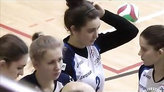 Arousing girls play a bit of volleyball--_short_preview.mp4