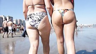 Magnificent butts in bikinis on a crowded beach--_short_preview.mp4