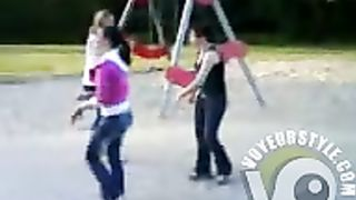 Russian lasses doing their sexy dance outdoors--_short_preview.mp4