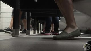 Foot fetish cam in busy public restroom--_short_preview.mp4