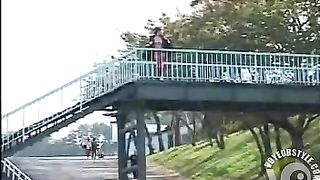 Japanese hooker flashes people in the amusement park--_short_preview.mp4