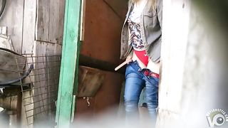 Outdoor perv films pretty Russian girl going to the toilet--_short_preview.mp4
