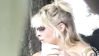 Sexy blonde woman filmed at the beach in voyeur mode--_short_preview.mp4