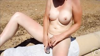 Jizzing on my big-breasted sweetheart outdoors--_short_preview.mp4