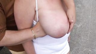 Chubby mature has her huge boobs groped by a stranger--_short_preview.mp4