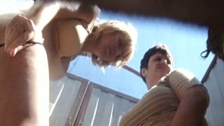 Hot blonde milf and her chubby brunette friend in the cabin--_short_preview.mp4