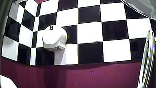 Brunette lovely woman in white pants pisses in the public toilet--_short_preview.mp4