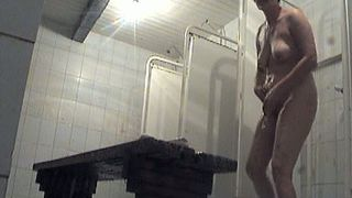 Busty and curvy amateur mature lady in the shower room on voyeur video--_short_preview.mp4