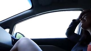 Sexy brunette bimbo with plump lips sucks my cock in my car--_short_preview.mp4
