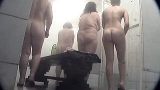 Lovely white amateur ladies of different shapes in the shower room--_short_preview.mp4