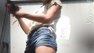 Redhead amateur hottie in the cabin filmed topless on cam--_short_preview.mp4