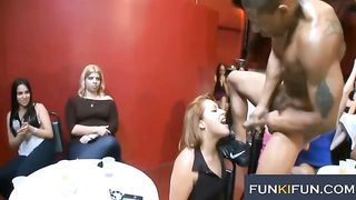 Amazingly naughty girls showing off their cock sucking skills at the party--_short_preview.mp4