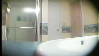 Spy cam video made in the bathroom while my ex-wife was washing--_short_preview.mp4