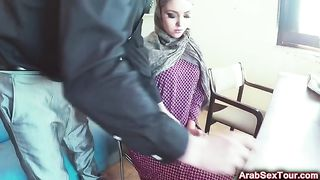 Poor Arab girl gets some money and gives her sweet pussy to a horny man--_short_preview.mp4