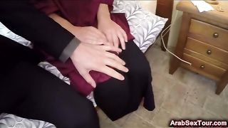 Prime arab cougar has a delicate hairy pussy which is getting smacked in doggy style--_short_preview.mp4