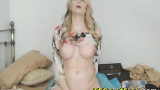 Hot Shemale Rides on Dildo and Explodes Huge Cum--_short_preview.mp4