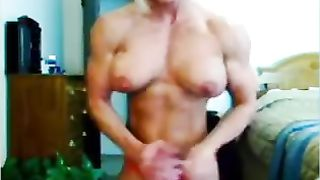 My girlfriend has insane body on ripped and sexy muscles--_short_preview.mp4