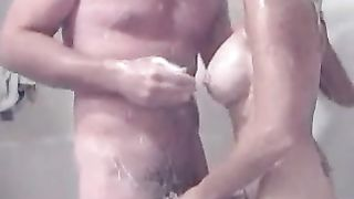 Boning super hot babe is standing doggy pose in a bathroom--_short_preview.mp4