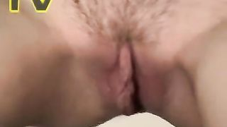 Ordinary looking pale chick with small tits pisses in the toilet--_short_preview.mp4