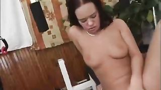Kinky and filthy brunette with awesome body touches her clit on my bed--_short_preview.mp4