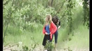 Two white amateur ladies in the forest pissing together--_short_preview.mp4