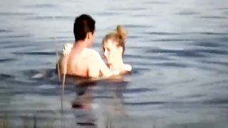 Kinky too pale amateur blonde GF of my buddy fucks with him in the river--_short_preview.mp4