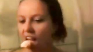 Kinky all wet naked brunette with cute titties was blowing my buddy--_short_preview.mp4