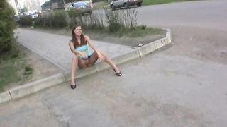 Fantastic lean Russian teen spreads her legs and shows her pussy--_short_preview.mp4