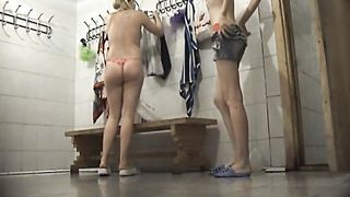Slender and pale skin white chicks in the locker room on spycam video--_short_preview.mp4