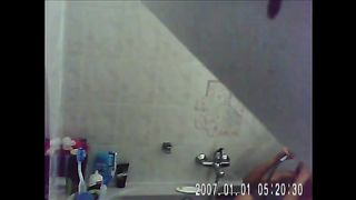 Installed in bathroom hidden cam caught my ex-wife taking a shower--_short_preview.mp4