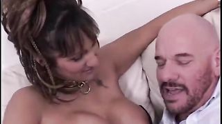 Desirable woman flaunts her massive knockers and then gives a nice titjob--_short_preview.mp4