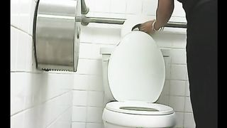 White lady in the public restroom filmed on hidden voyeur video--_short_preview.mp4