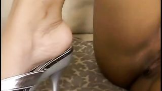 Ebony sexpot with naturally tight tits is busy with sucking strong white cock--_short_preview.mp4