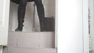White chick in black boots and pantyhose pisses in the toilet--_short_preview.mp4