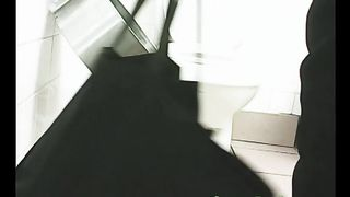 Chunky busty black stranger lady in the public restroom--_short_preview.mp4