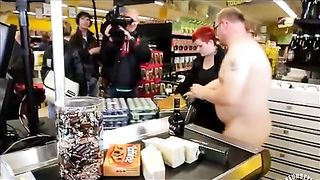 German nudists buying in the store--_short_preview.mp4