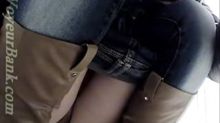 Lovely white teen in tight jeans got her pussy filmed on hidden cam--_short_preview.mp4