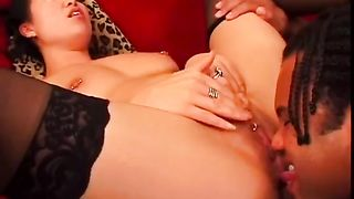 Giggling happy and erotically hot brunette gets her Asian pussy licked--_short_preview.mp4