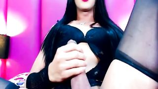 Hot Shemale Babe Faps her Cock--_short_preview.mp4