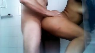 I bang soaking twat of my lusty tanned GF in the shower--_short_preview.mp4
