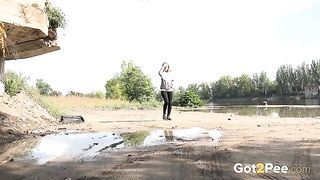 Brunette teen in black pants wanna to piss outdoors without any delay--_short_preview.mp4