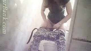 Brunette young amateur chick pulls down her pants and pees--_short_preview.mp4