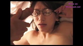 This raunchy Chinese nympho loves threesomes and she loves getting jizzed on--_short_preview.mp4