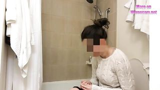 Watching my big assed GF shower when she doesn't know I'm spying on her--_short_preview.mp4