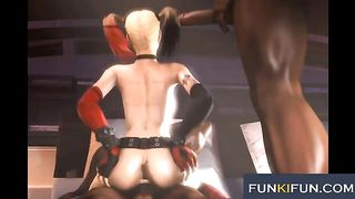 Harley Quinn is a boner magnet and she fucks like a total slut--_short_preview.mp4