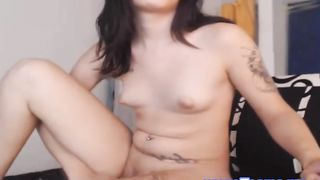 Hot Shemale Jerking on her Big Dick--_short_preview.mp4