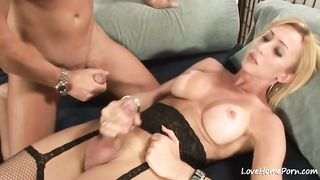 Ladyboy in black stockings fucking a horny man--_short_preview.mp4