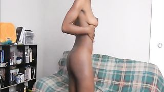 This black chick likes to show off her chocolate booty and it is awesome--_short_preview.mp4