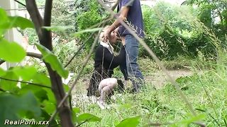 Hardcore mouthfuck and brutal doggy with a lusty blondie outdoors--_short_preview.mp4