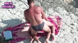 Knowing she is getting off is amazing and this slut loves fucking on the beach--_short_preview.mp4